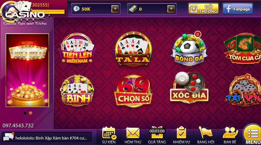 Game bài 68 đổi thưởng