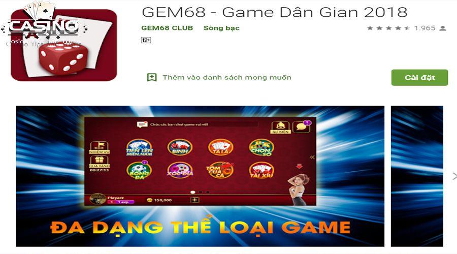 Tải game Gem68