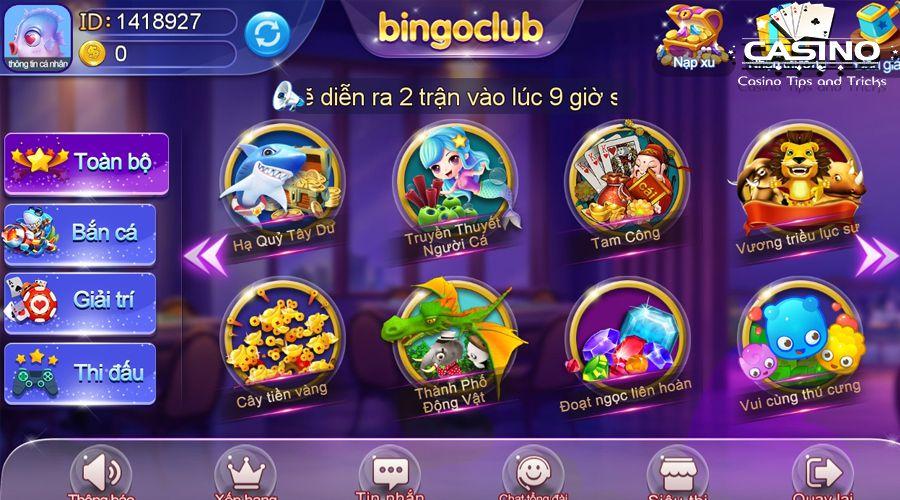 Bắn cá Bingo Club