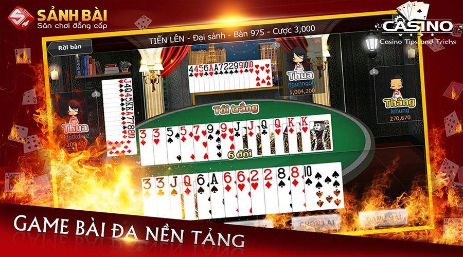 Cổng game Sảnh bài